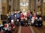 Wizyta Świętego Mikołaja wKościele